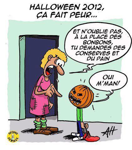 La crise... dans Crazy hallowen