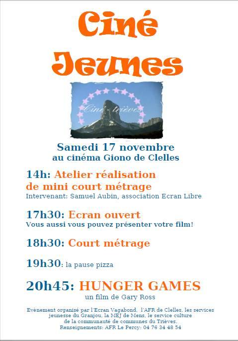 Ciné jeunes dans Trièves culture & cinéma cine