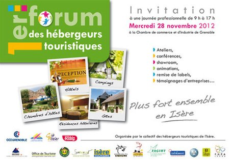 1er forum des hébergeurs touristiques dans Trièves tourisme forum