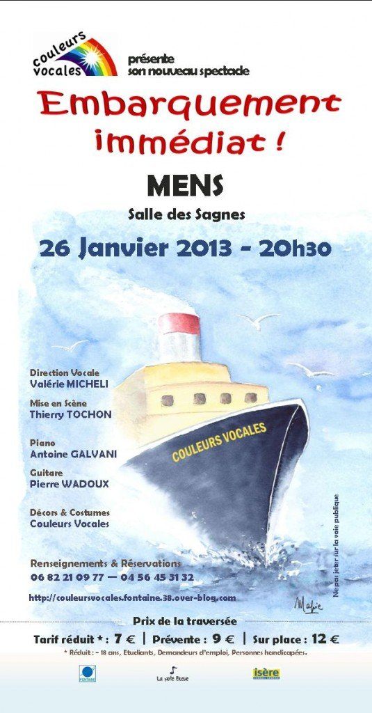 Embarquement immédiat dans Trieves evenements flyer_26-jan-2013