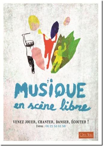Musique en scène libre dans Trièves culture & cinéma cabane