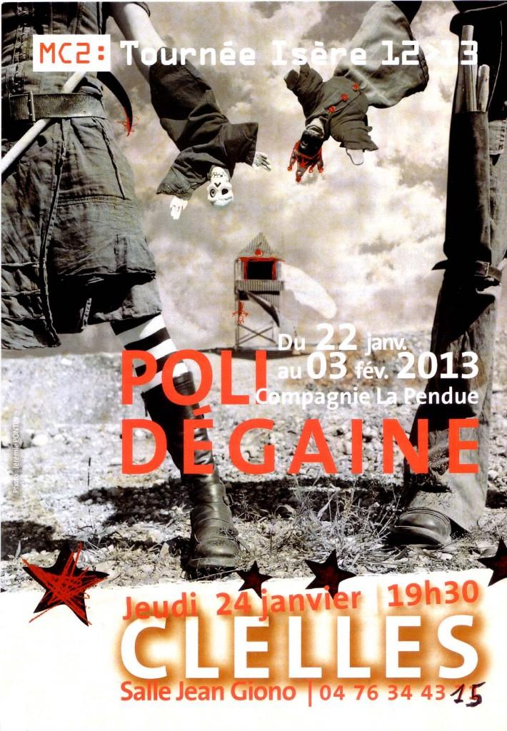 POLI DEGAINE dans Trièves culture & cinéma poli-degaine-flyer