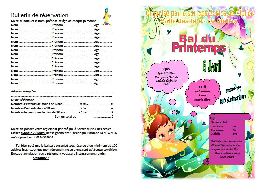 Bal de printemps dans Trieves evenements bal
