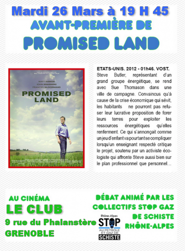 Promised land dans Ecologie land