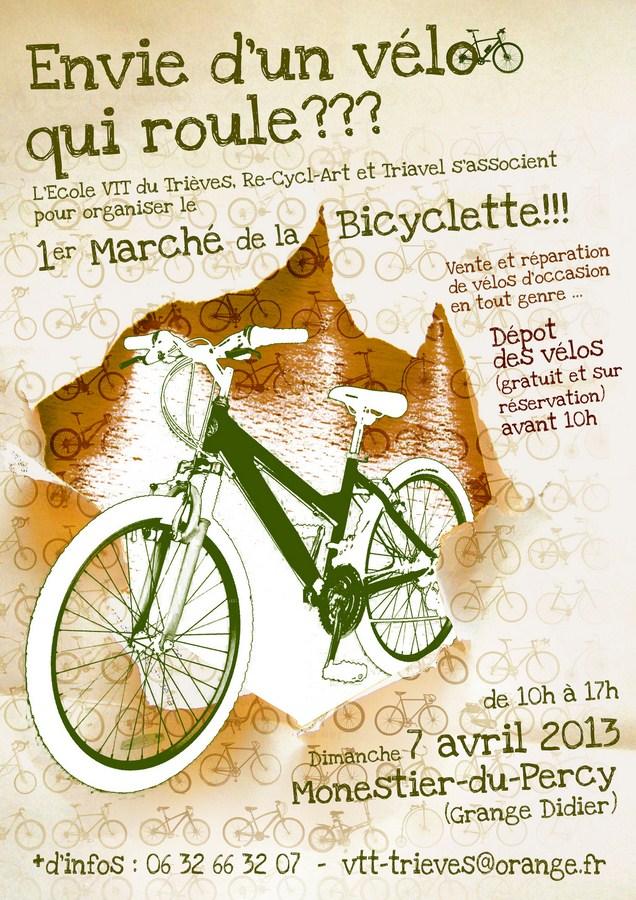1er marché de la bicylette dans Ecologie velo-copier