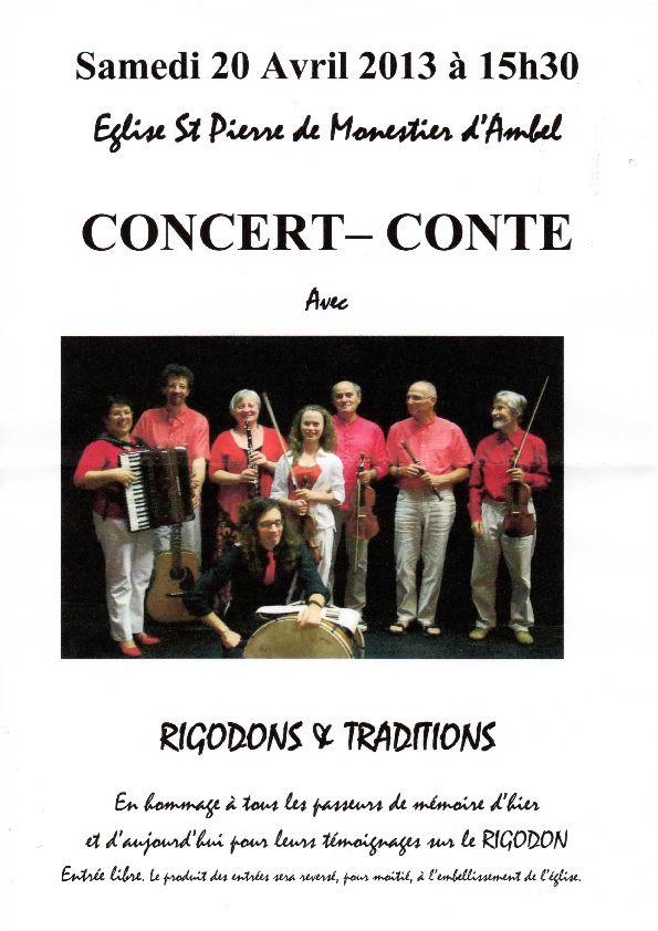 Rigodons & Traditions dans Trièves culture & cinéma concert