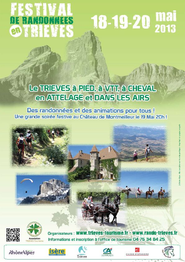 Festival de randonnées en Trièves dans Trièves tourisme festival