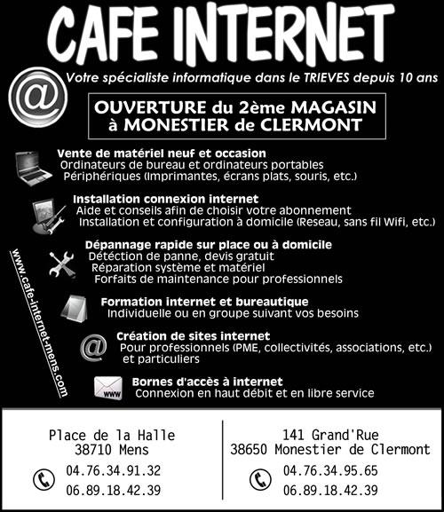 Pub (gratuite) ! dans Trièves service cafe-internet