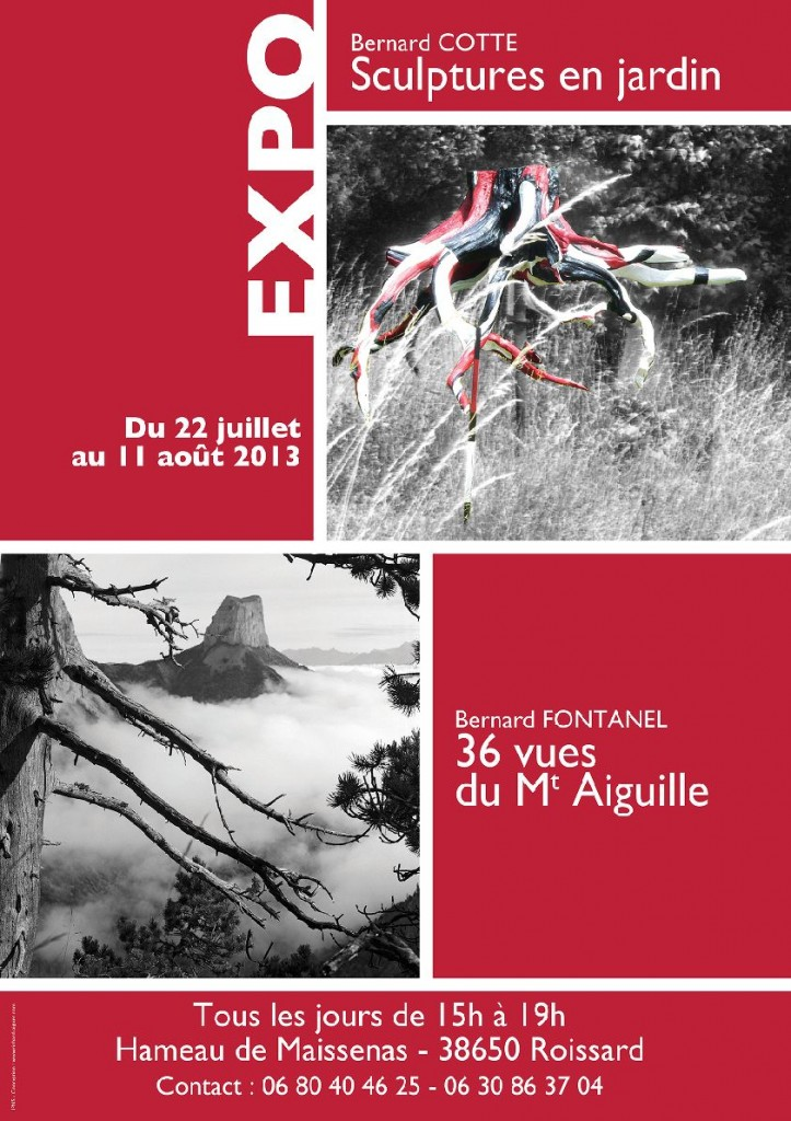 Sculptures en jardin dans Trièves culture & cinéma cotte