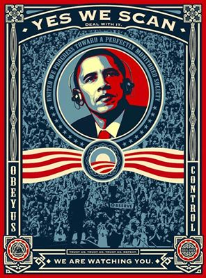 Yes we scan... dans Obamania yes