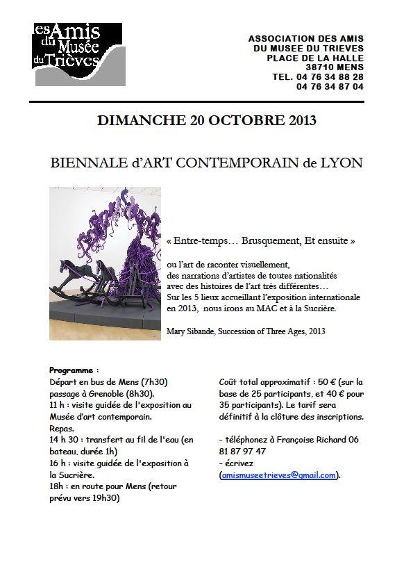 Biennale d'art contemporain dans Trièves culture & cinéma biennale