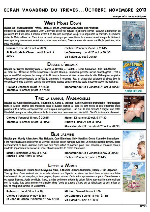 Octobre dans Trièves culture & cinéma octobre