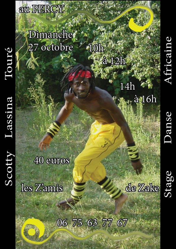 Danse Africaine dans Trieves evenements plaquette-scotty-10.2013