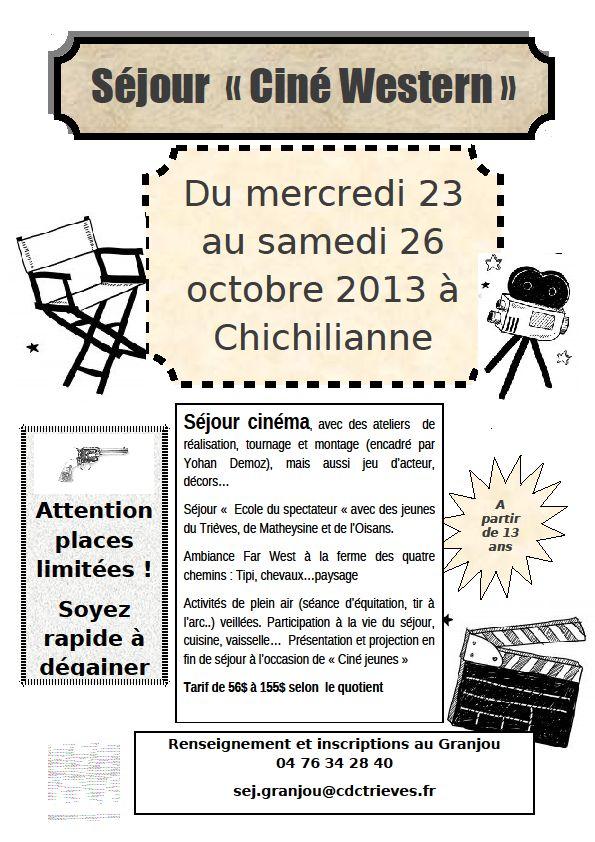 Ciné Western dans Trièves culture & cinéma western
