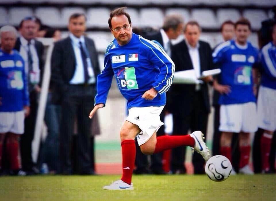 Nouvel attaquant de l'équipe de France dans Crazy hollande-foot